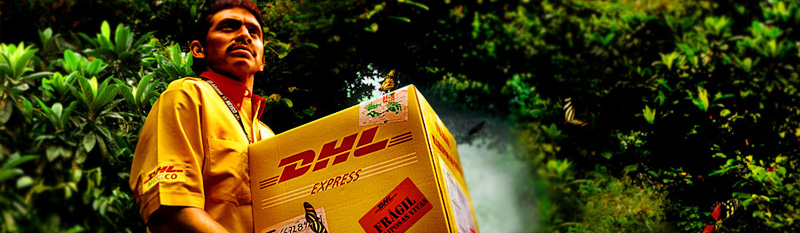 Shipping Internationally is a snap with DHL.